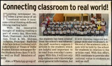 Connecting Classroom to real world @ Times NIE - 30th December 2019