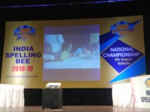 India Speling Bee - National Championship @ Kolkata